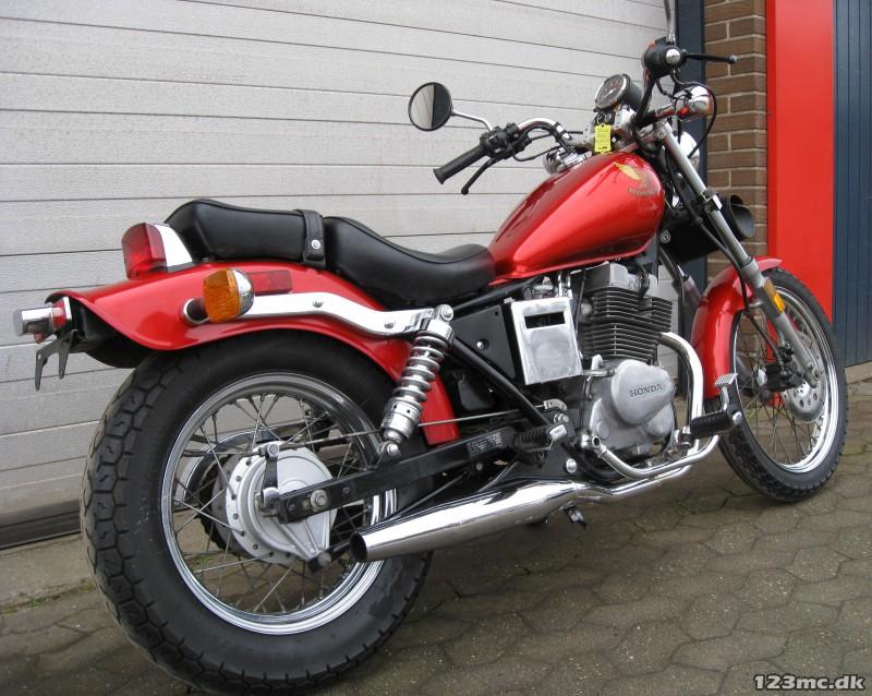 Brugt Honda Cmx 250 Rebel 1987 Til Salg