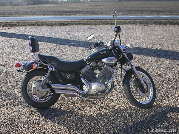 brugt yamaha xv 535 virago 1987 til salg 123mc. Black Bedroom Furniture Sets. Home Design Ideas