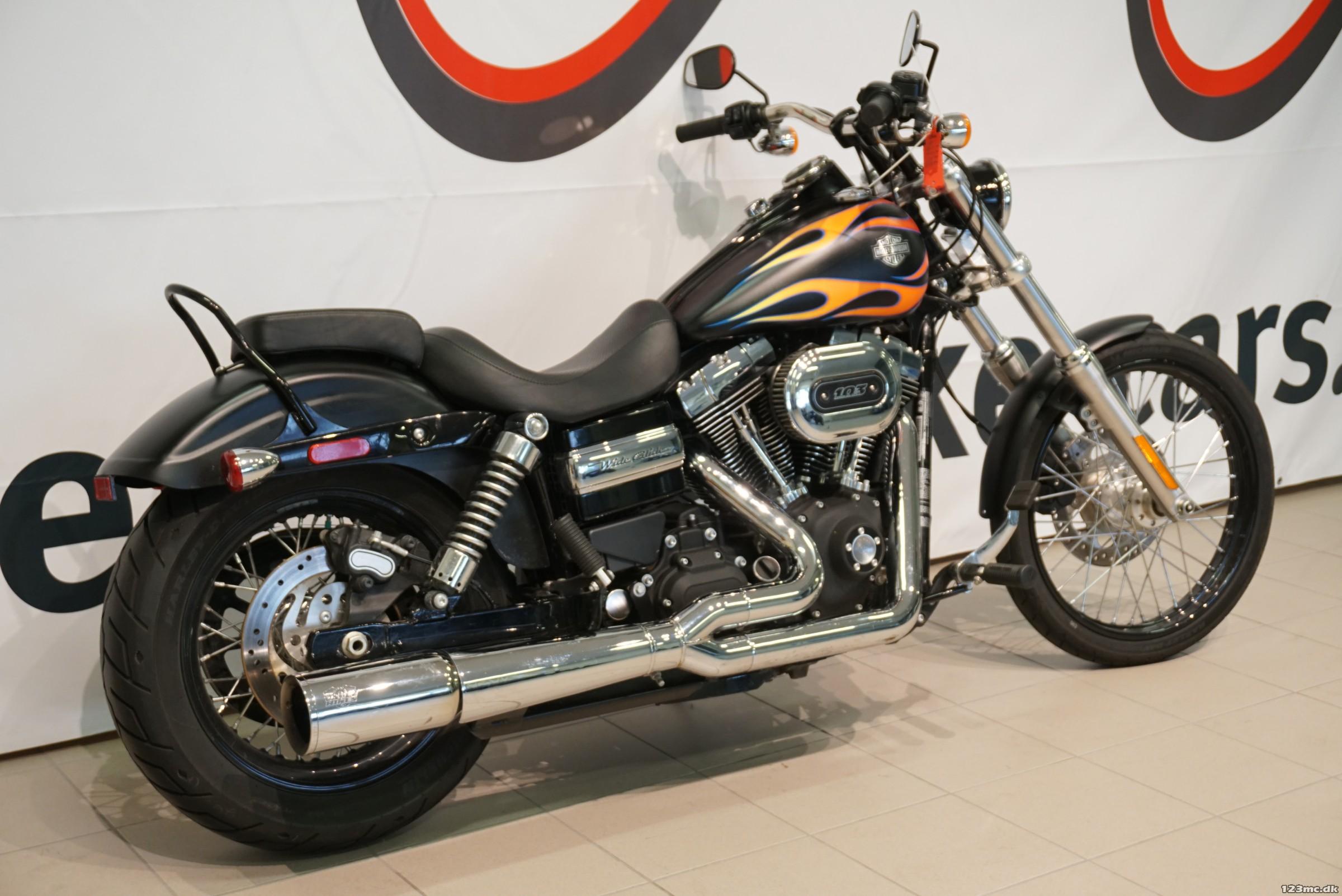 Brugt Harley-Davidson FXDWG Dyna Wide Glide 2016 til salg ...