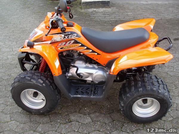 Ny Kymco ATV 2017 til salg - 123mc