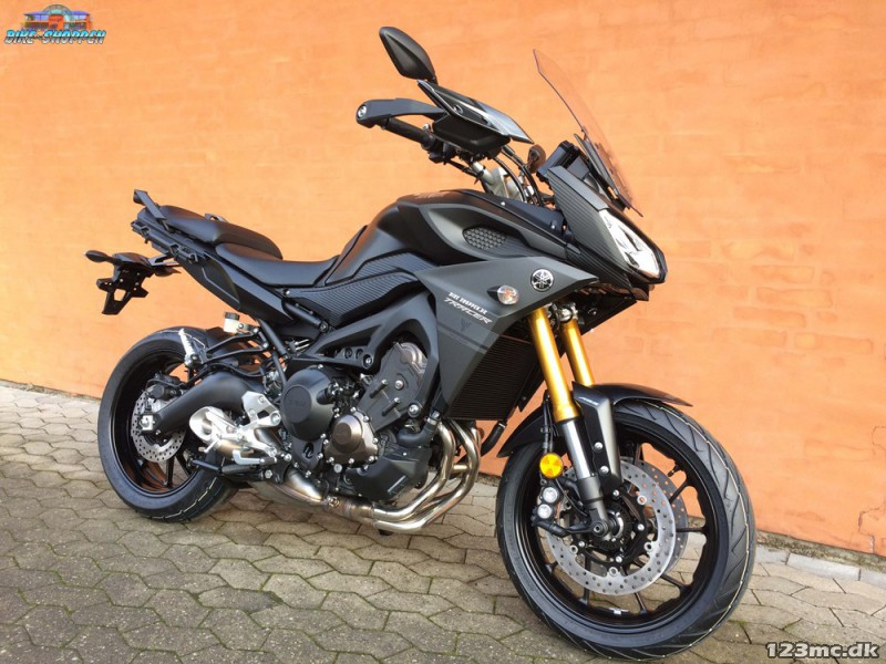 ny yamaha mt 09 tracer 2017 til salg 123mc. Black Bedroom Furniture Sets. Home Design Ideas