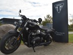 Triumph Bonneville Bobber Black Demo Model