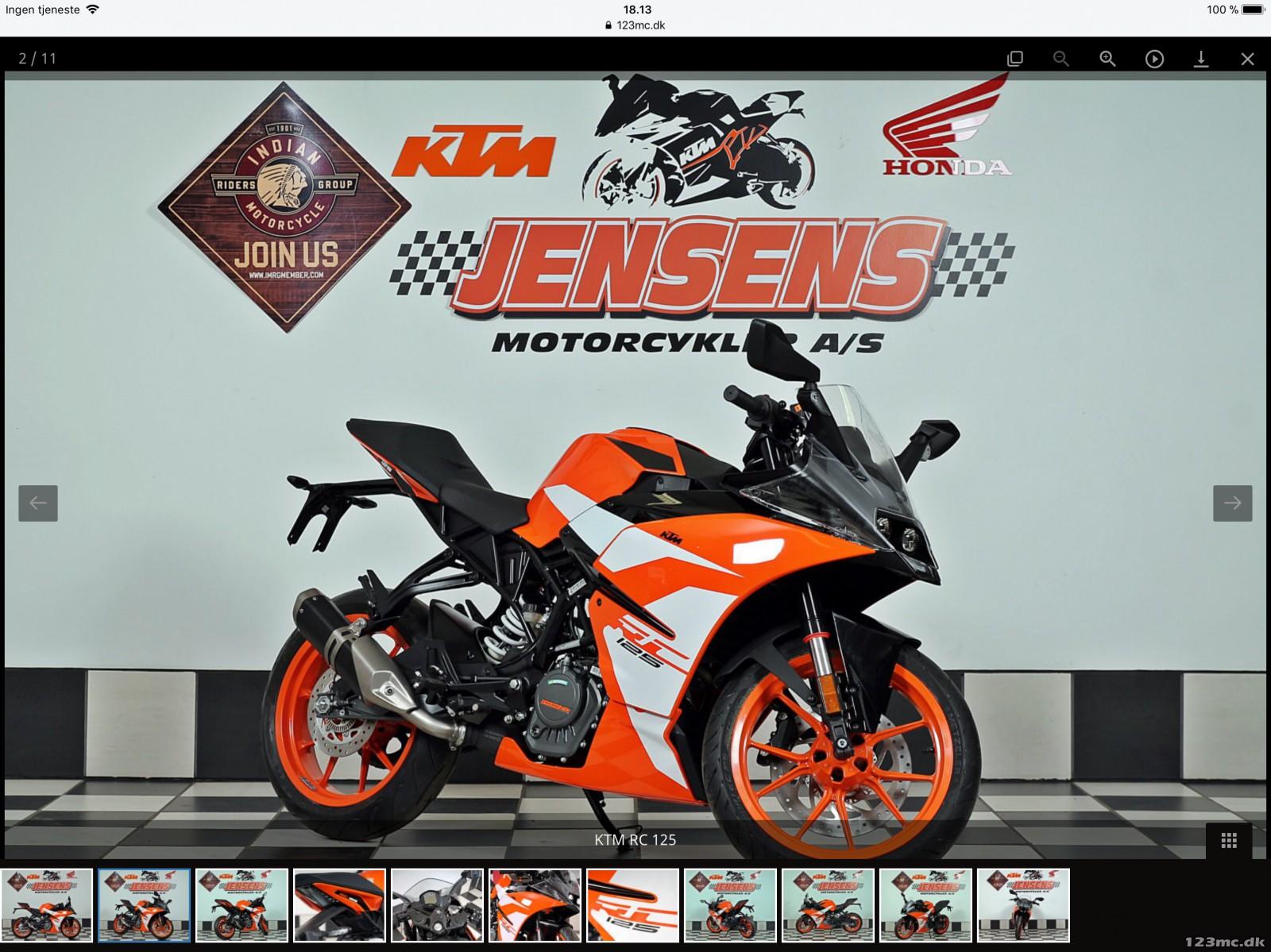KTM RC 125 2020 New Colour | KTM 2020 New colour. - YouTube
