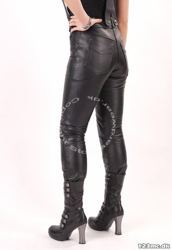 Læder jeans til piger Miata til salg - 123mc