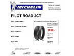 MICHELIN PILOT ROAD 2CT. Sæt pris.!