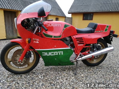 Ducati Mike Hailwood Replica 1000
